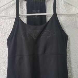 Athleta black workout tank
